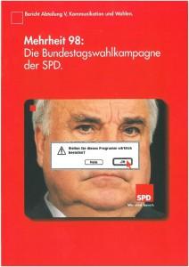 11_1998_SPD-Parteivorstand-Broschüre_Bundestagswahl_1998_Kohl © SPD