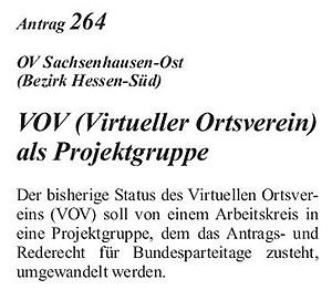 20_2003_11_17_SPD_Bundesparteitag_Beschlussbuch_Bochum_Antrag_VOV_Seite-164 © Petra Tursky-Hartmann