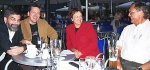 September 20005 VOV-Vorstand trifft Brigitte Zypries in Darmstadt © Petra Tursky-Hartmann